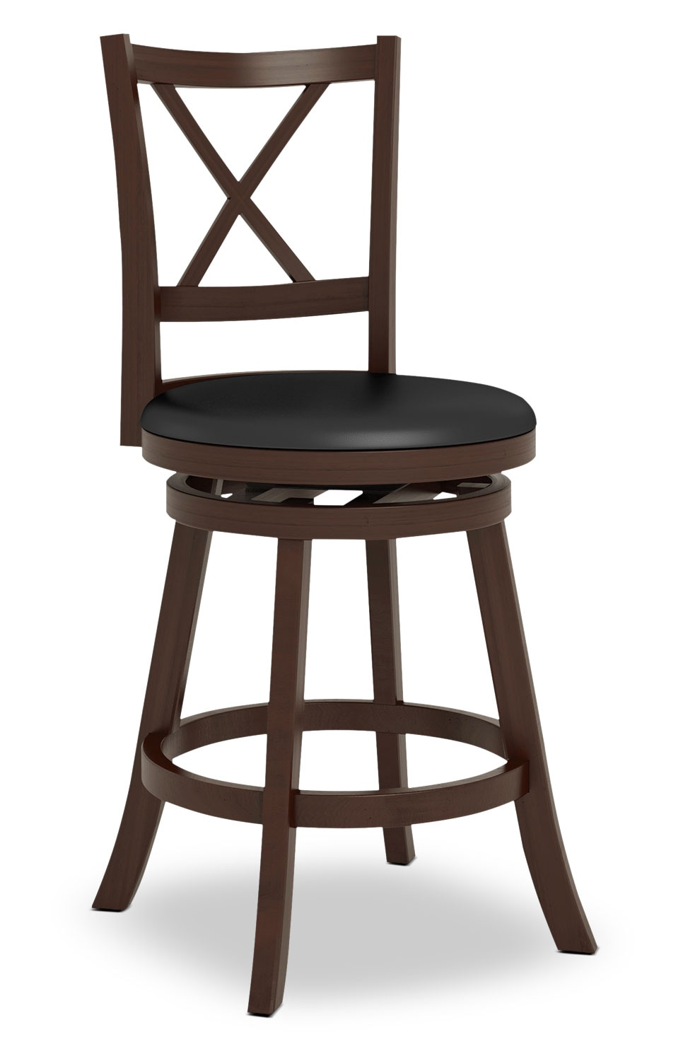 "Dining Room Furniture - Woodgrove 38"" Barstool - Cross Back"