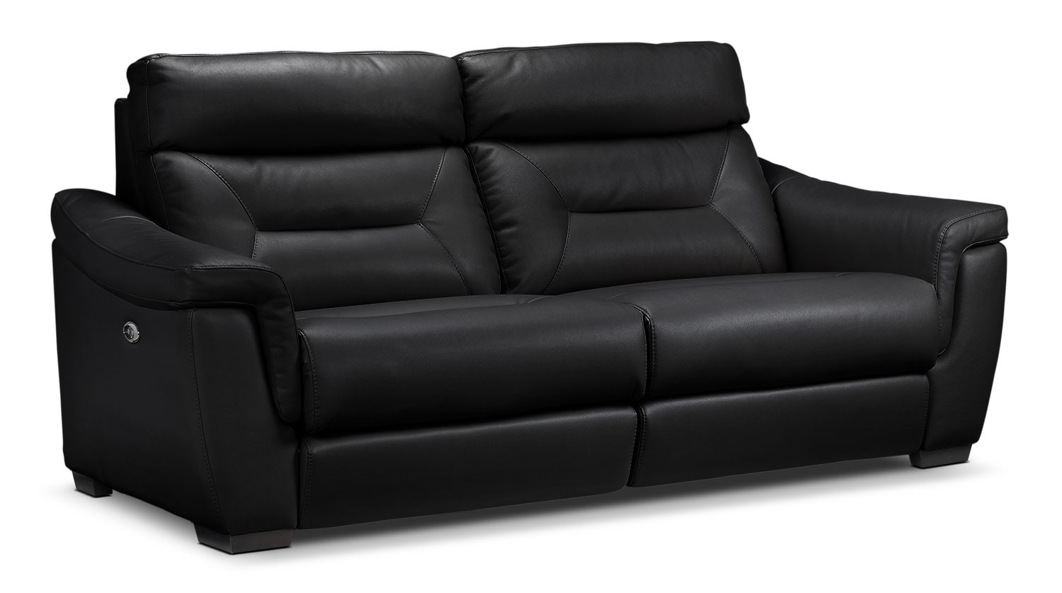 Ralston Power Reclining Sofa - Black