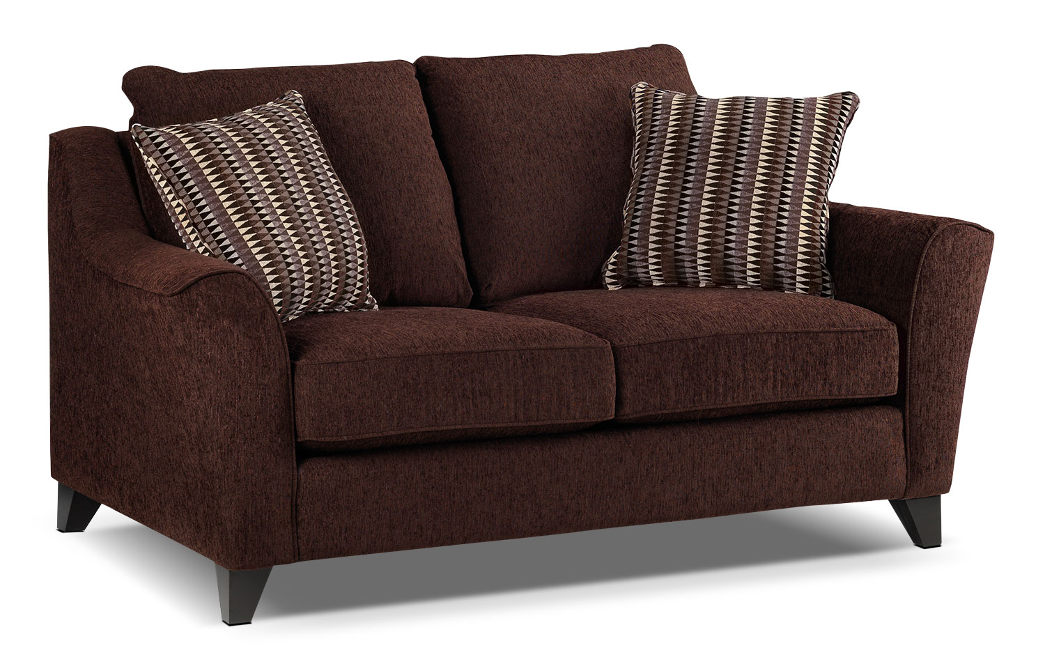 Living Room Furniture - Alijon Loveseat - Espresso