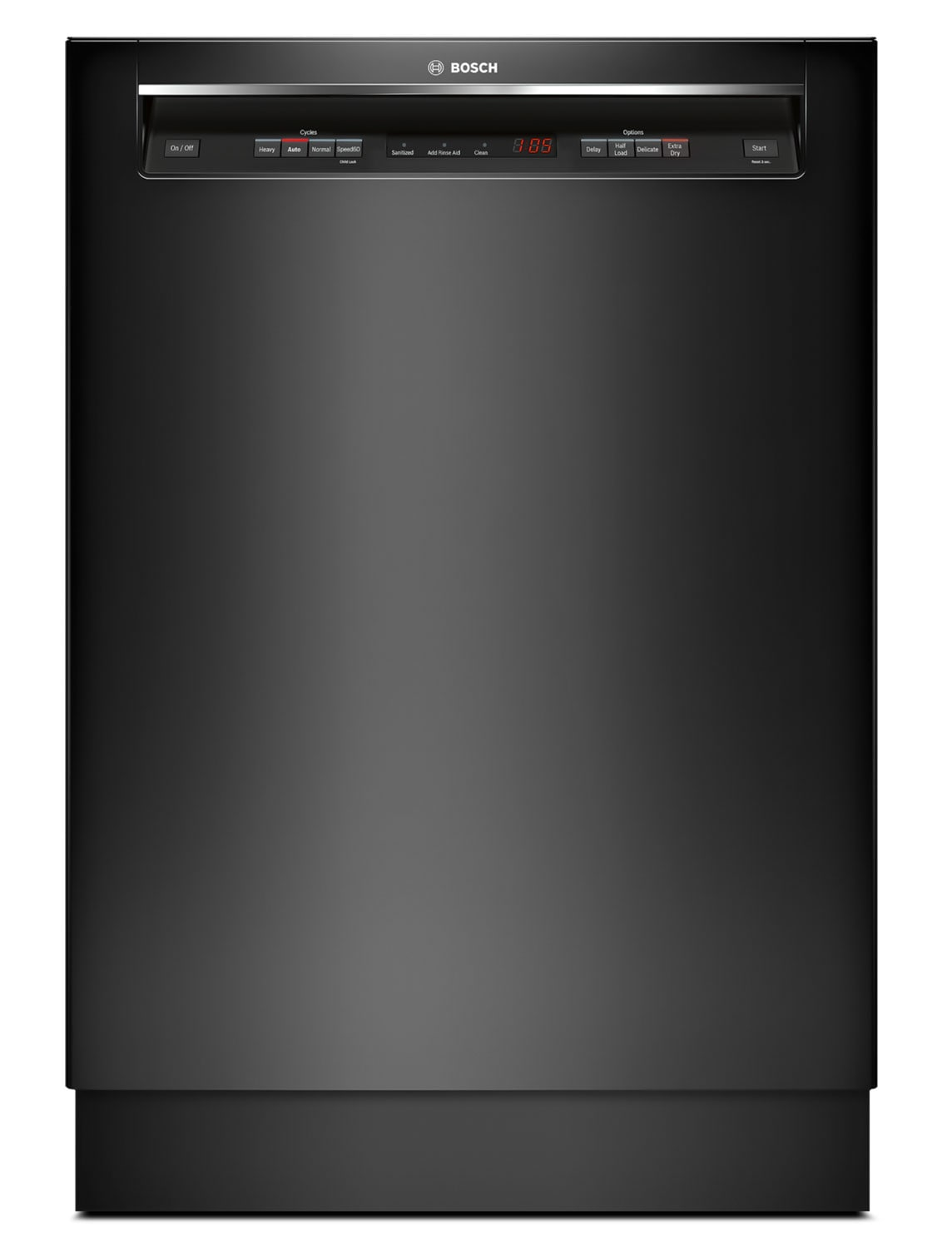 "Bosch Ascenta 24"" Recessed Handle Built-In Dishwasher – SHE4AV56UC"