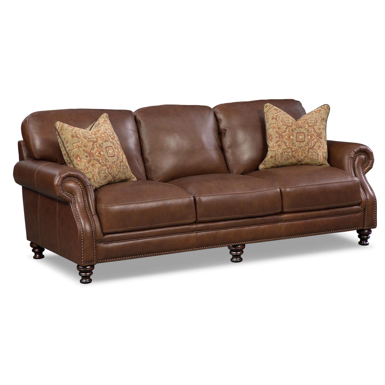 Sofas Leather Living Room Furniture American Signature