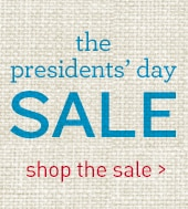 shop the presidents day sale