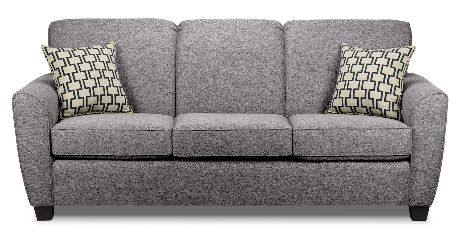 Living Room Furniture - Ashby Sofa - Oreo