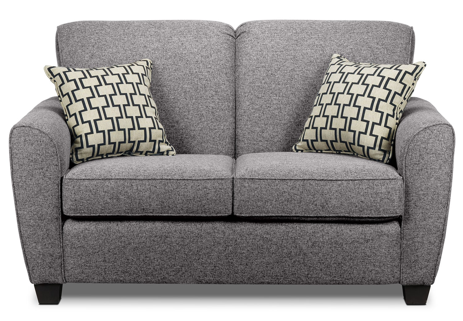 Living Room Furniture - Ashby Loveseat - Oreo