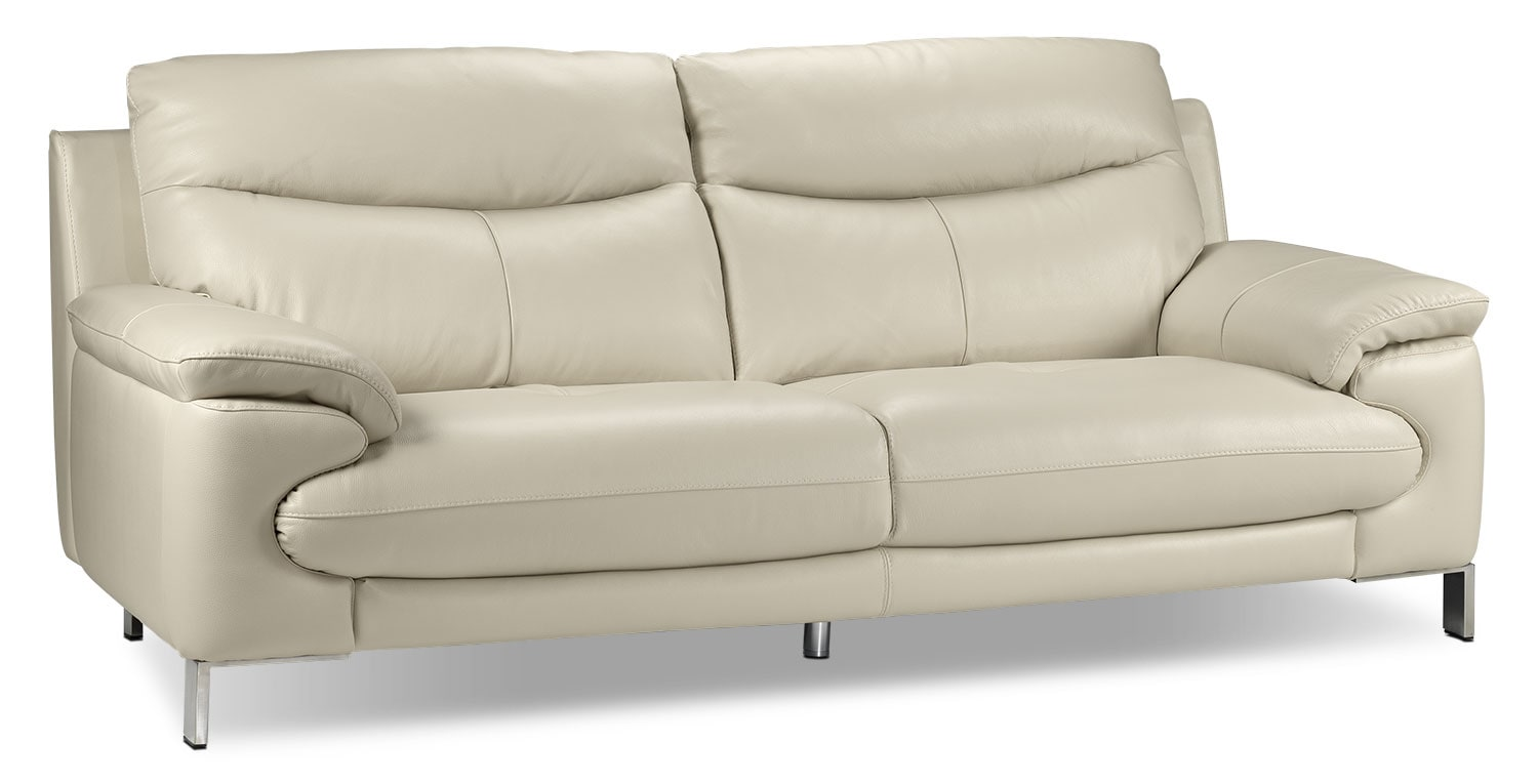 Living Room Furniture - Anika Sofa - Bisque