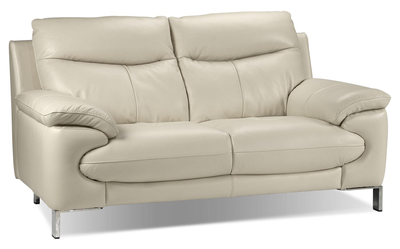 Living Room Furniture - Anika Loveseat - Bisque