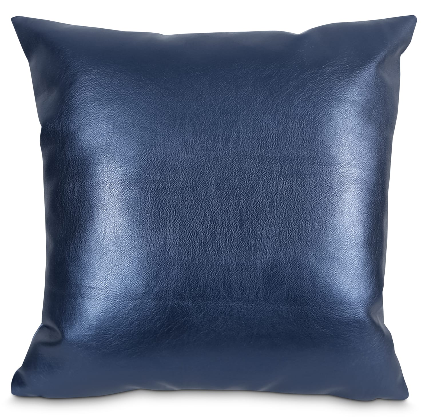 Metallika Accent Pillow – Blue