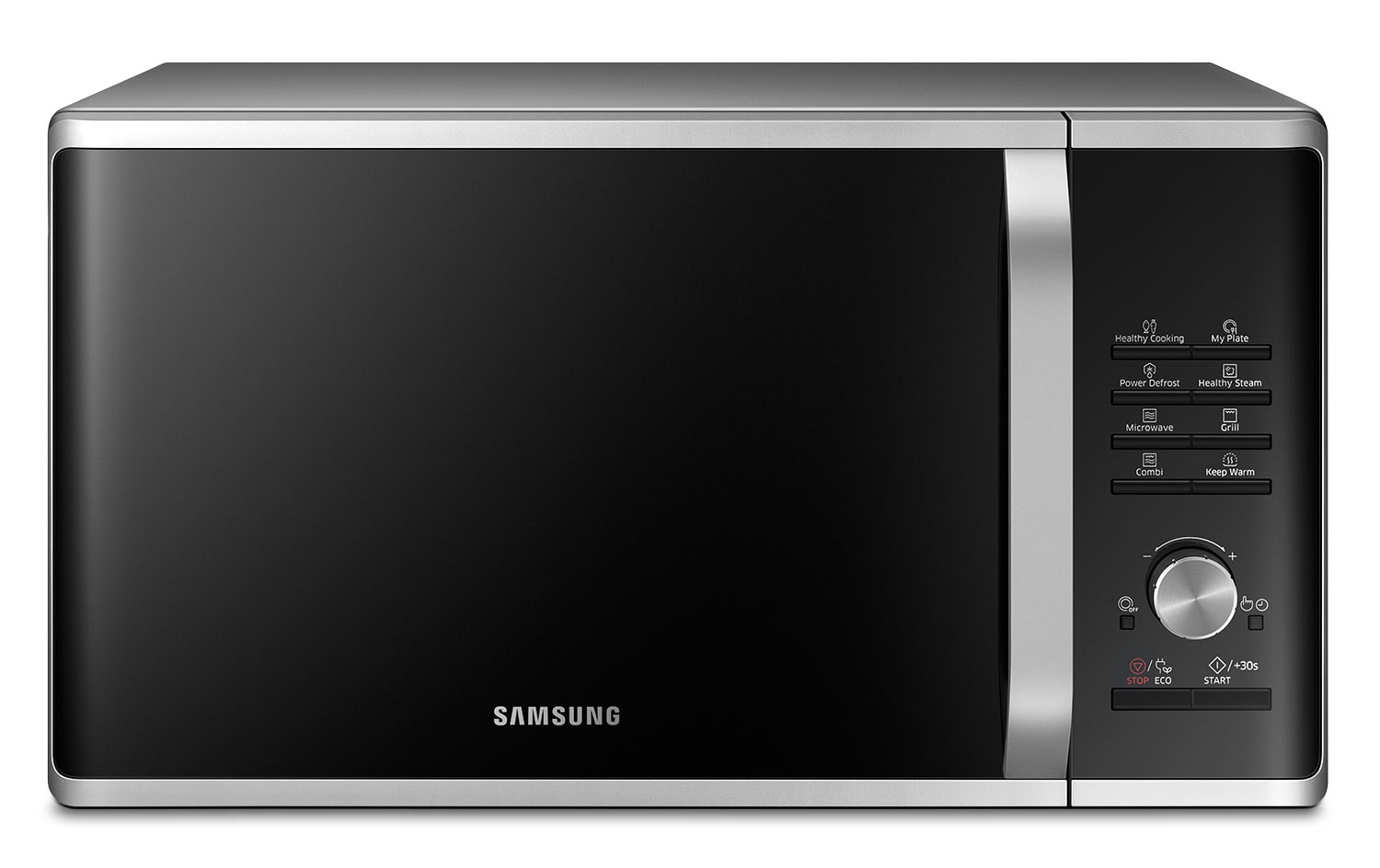 Cooking Products - Samsung Stainless Steel Countertop Microwave (1.1 Cu. Ft.) - MS11J5023AS/AC