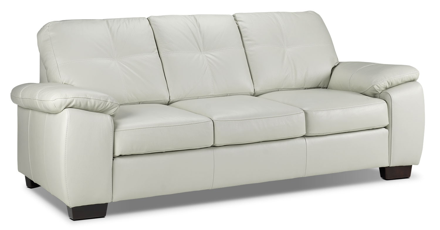Living Room Furniture - Naples Sofa - Smoke