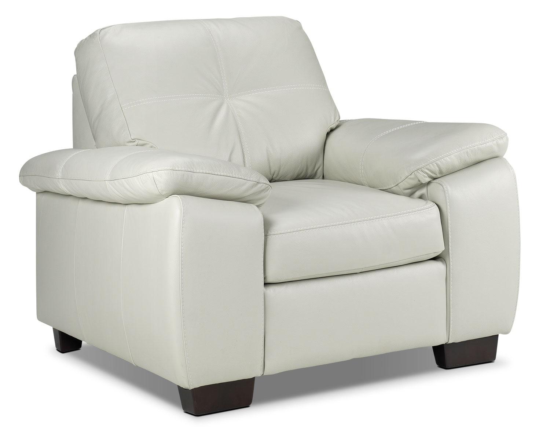 Living Room Furniture - Naples Chair - Smoke