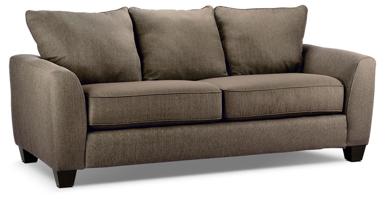 Living Room Furniture - Heritage Sofa - Nutmeg