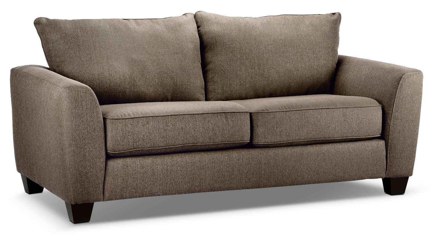 Living Room Furniture - Heritage Loveseat - Nutmeg