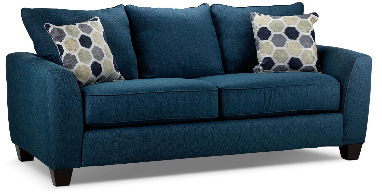 Heritage Sofa Navy Leon S