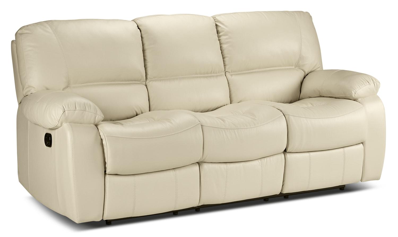 Living Room Furniture - Piermont Reclining Sofa - Bisque