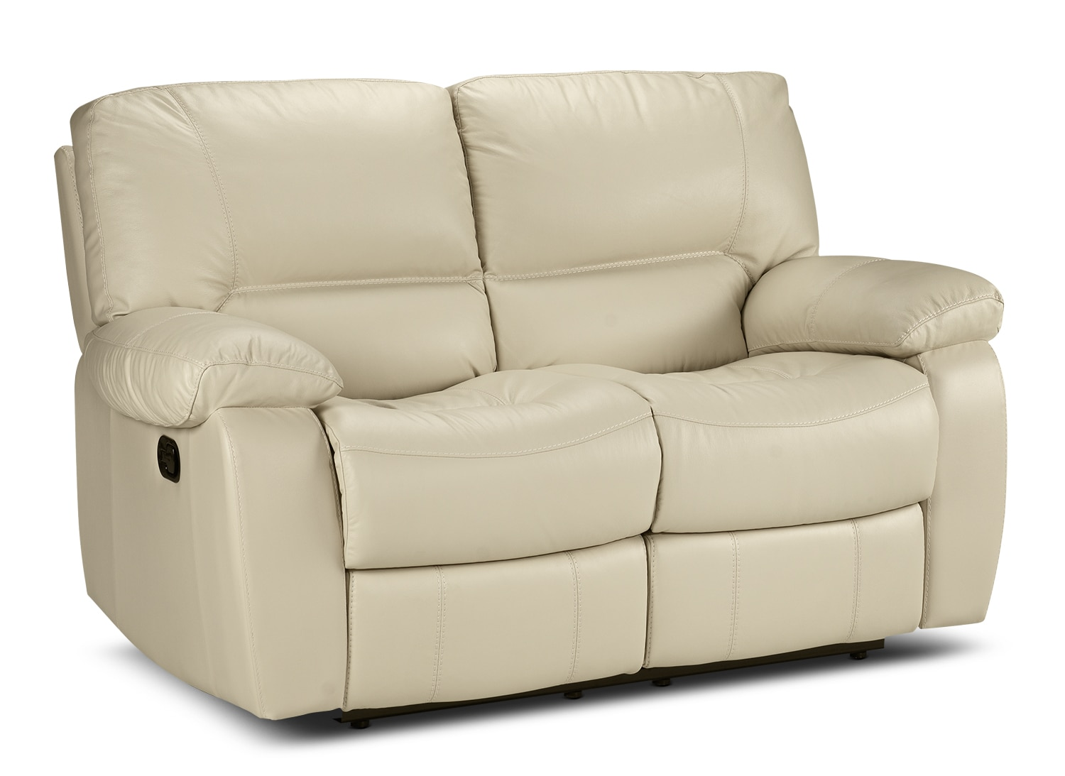 Living Room Furniture - Piermont Reclining Loveseat - Bisque