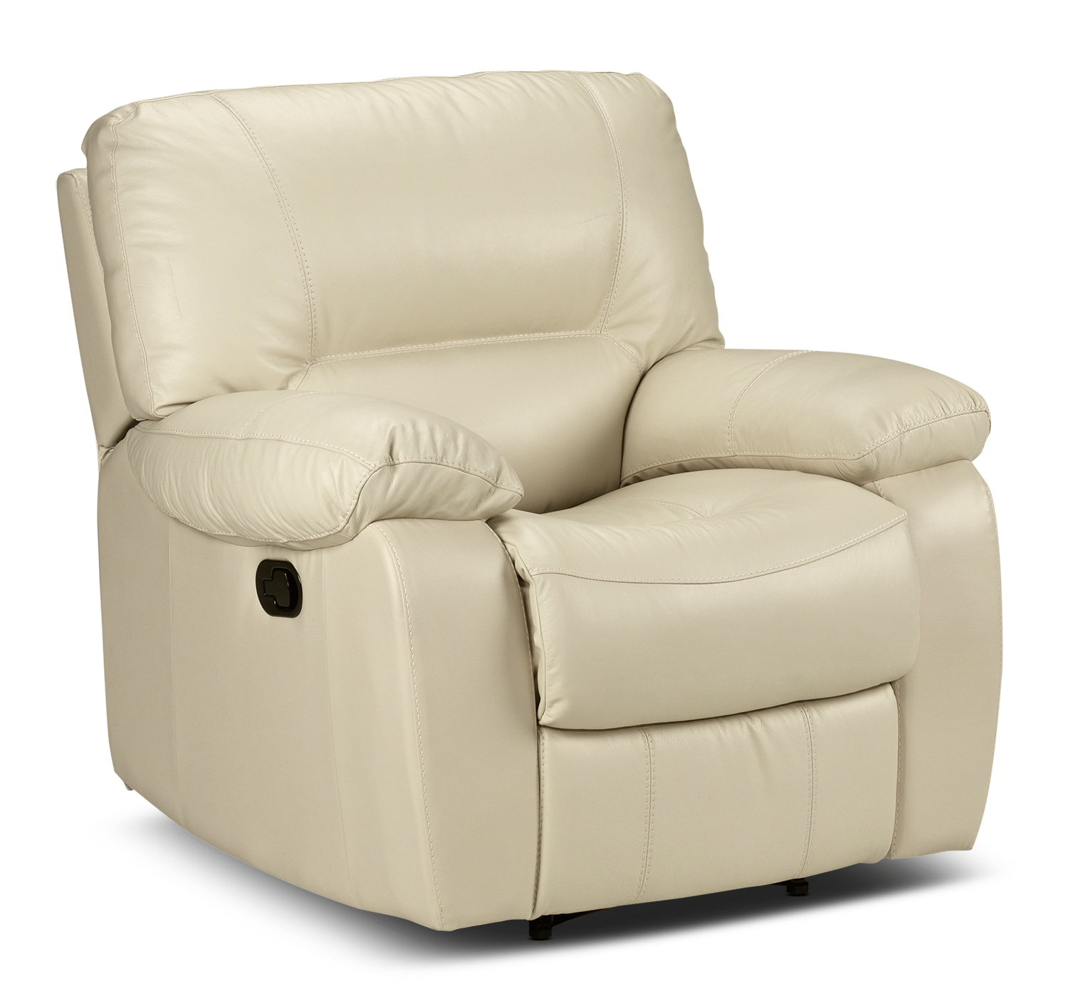 Living Room Furniture - Piermont Recliner - Bisque