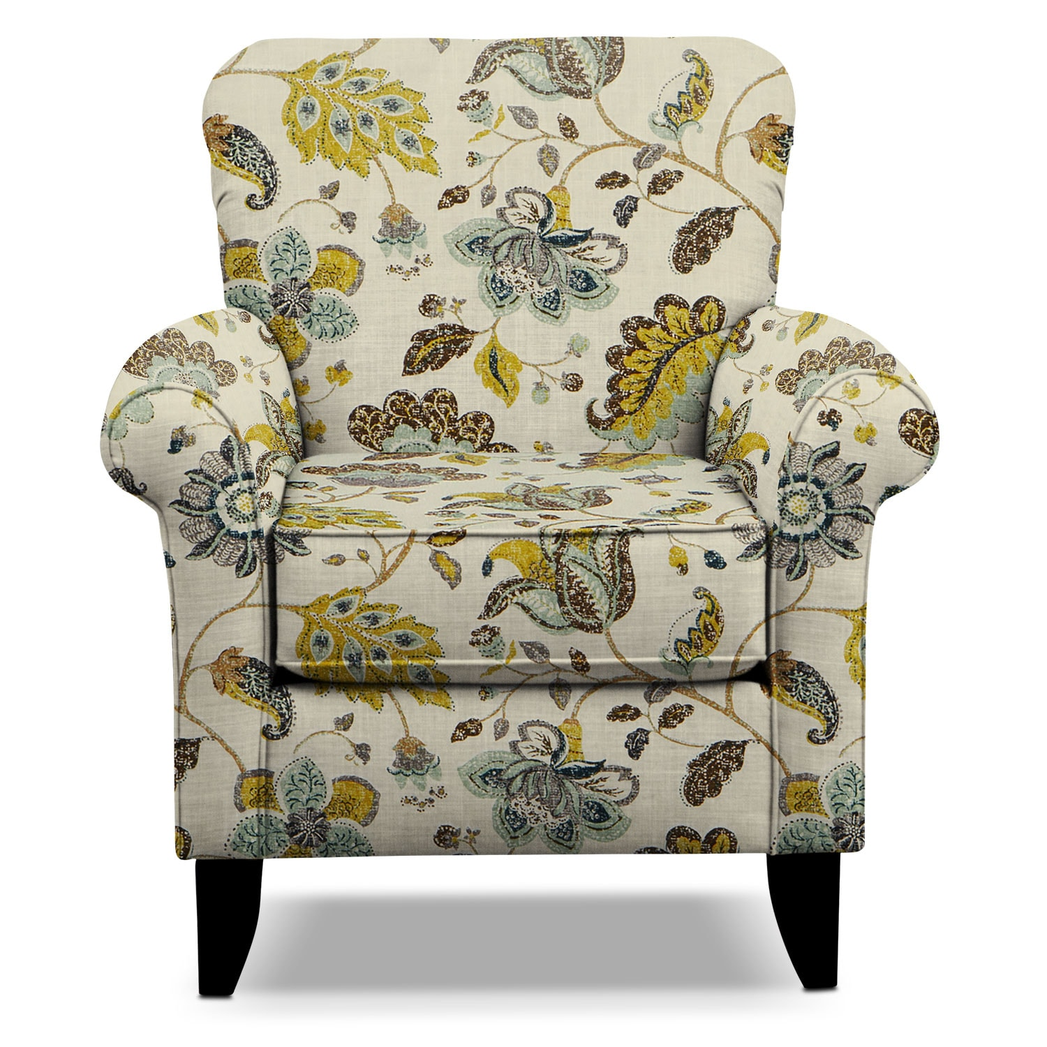 floral living room sets tracy accent chair floral value city furniture 15908