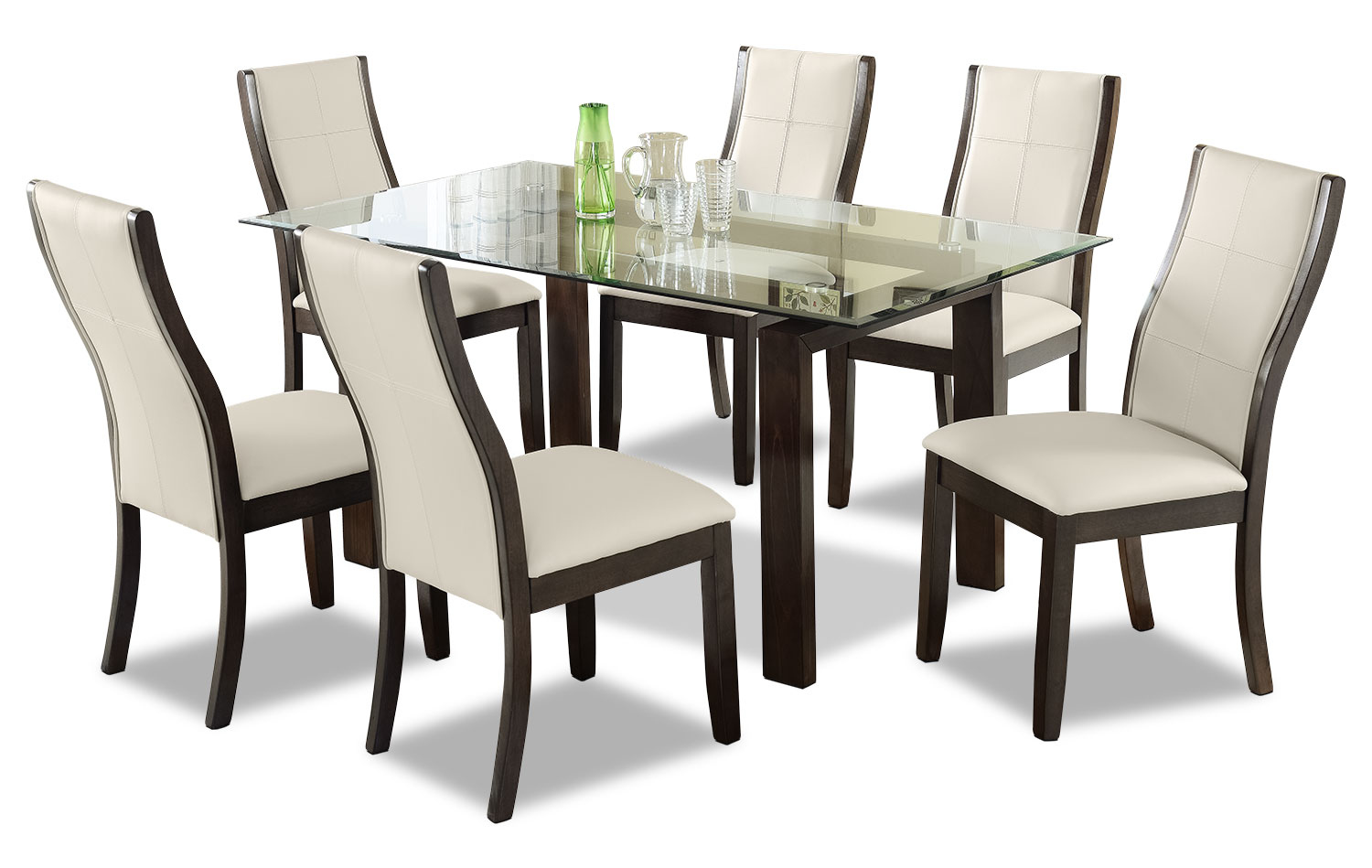 Dining Room Furniture - Tyler 7-Piece Dining Package – Taupe