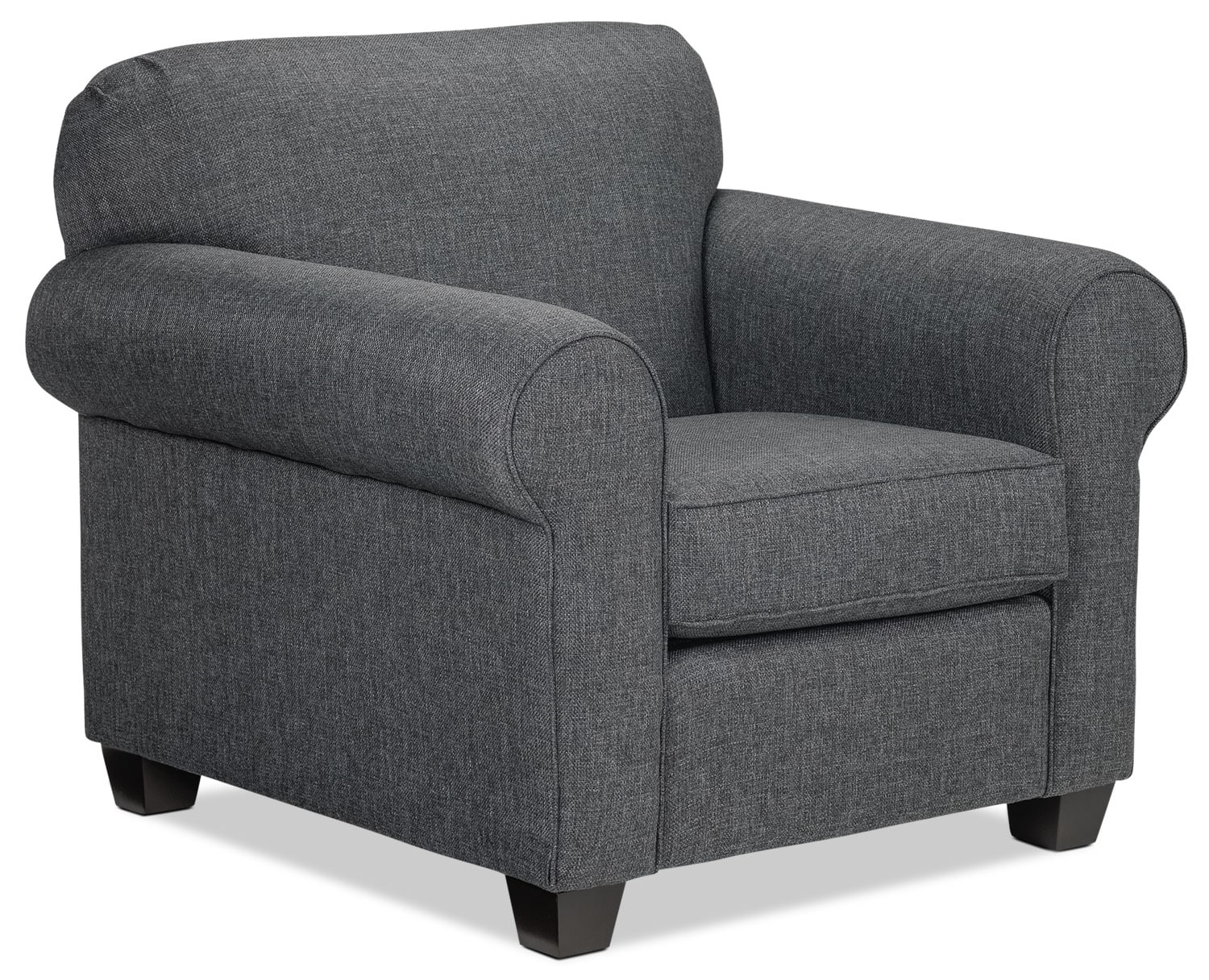 Living Room Furniture - Aristotle Chair - Grey