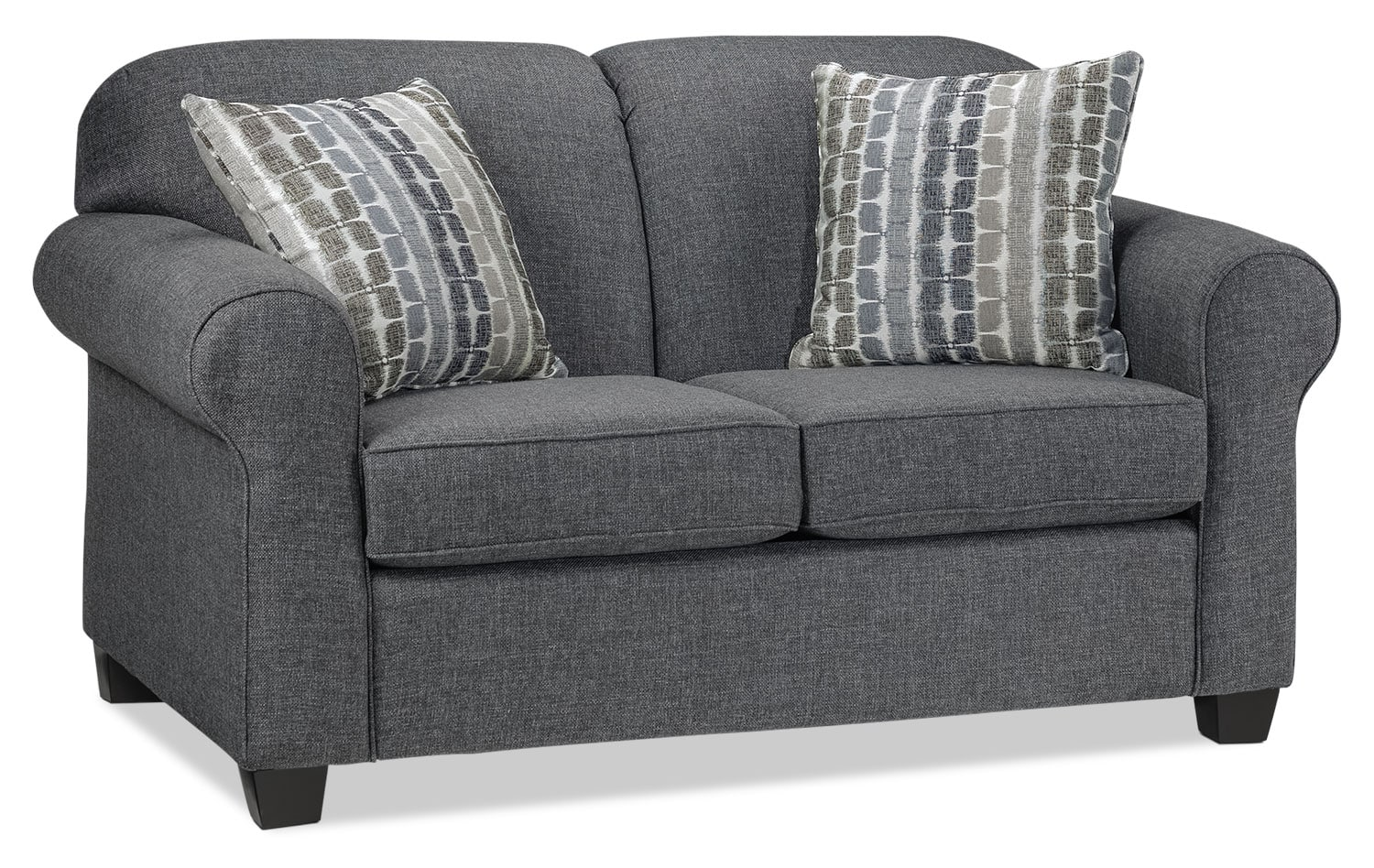 Aristotle Loveseat - Grey