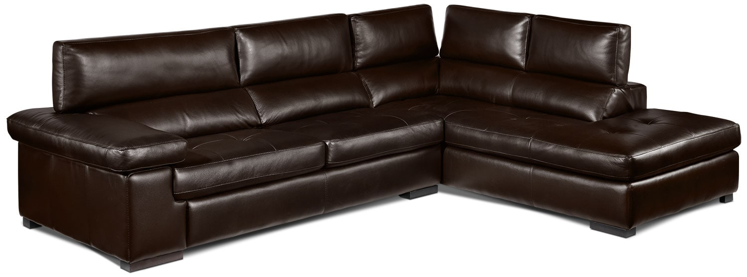 Underwood 2-Piece Right-Facing Sectional - Espresso