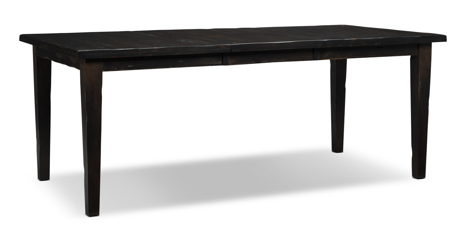 Bordeaux Dining Table, Single Leaf – Grey