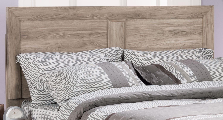 Bedroom Furniture - Yorkdale Light King Panel Headboard