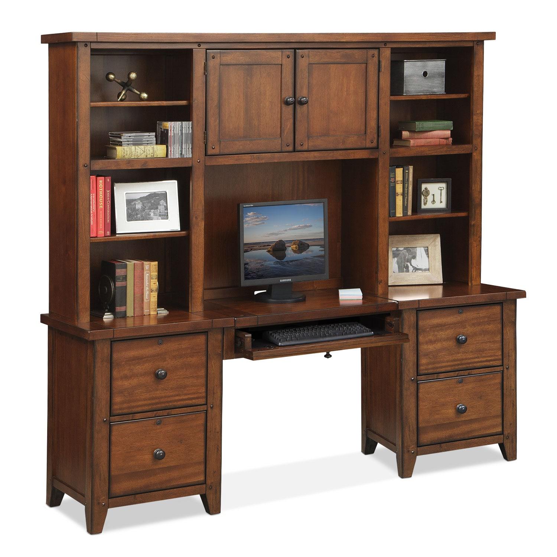 Morgan 2 Drawer File Cabinet Brown Value City Furniture