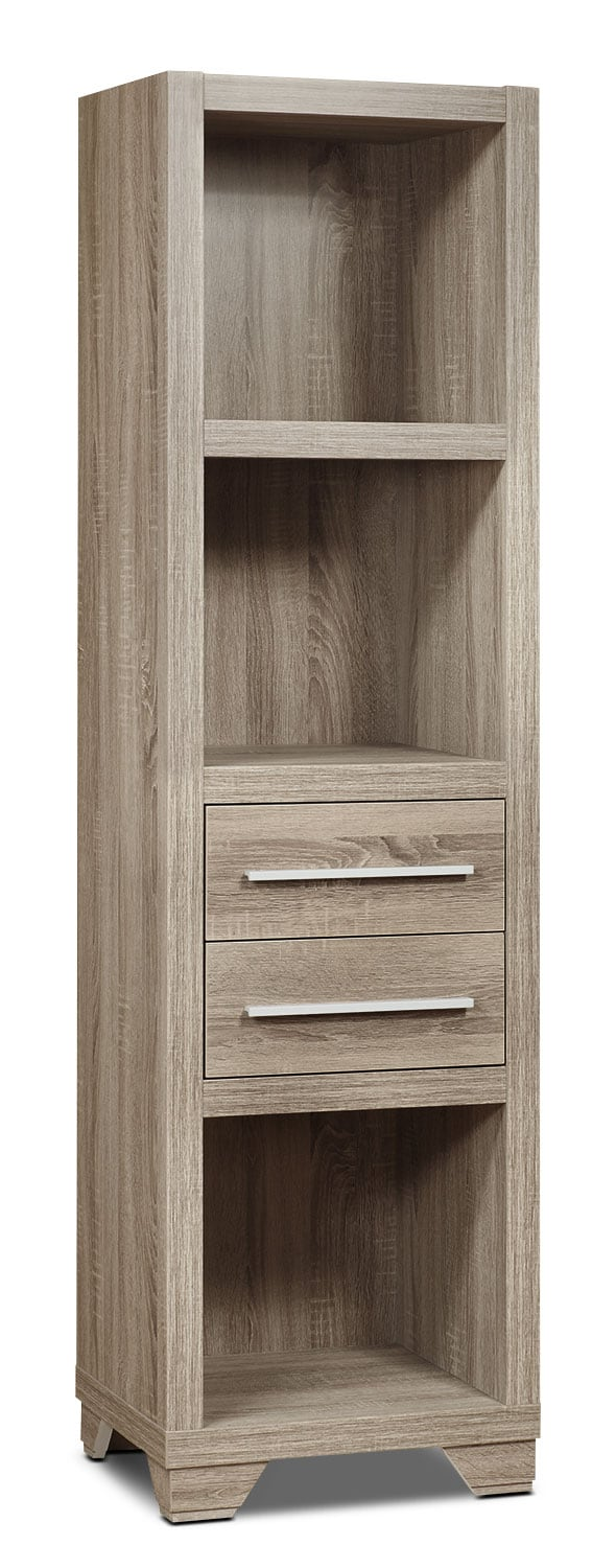Entertainment Furniture - Glendale Bookcase – Grey