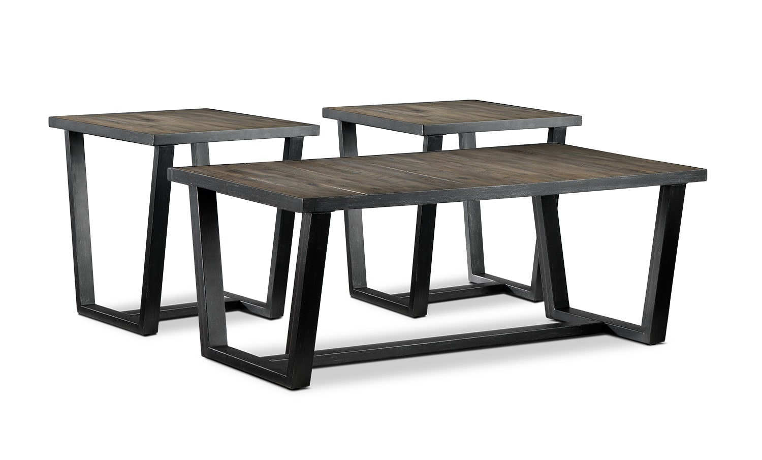 Accent and Occasional Furniture - Berkley 3-Piece Table Set