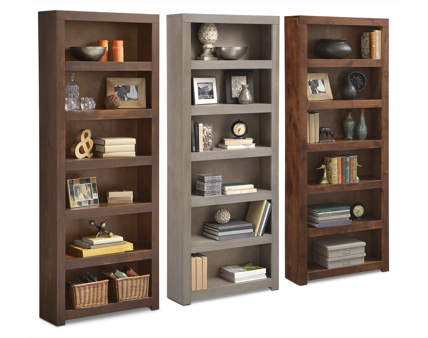 The Bricklin Bookcase Collection American Signature Furniture