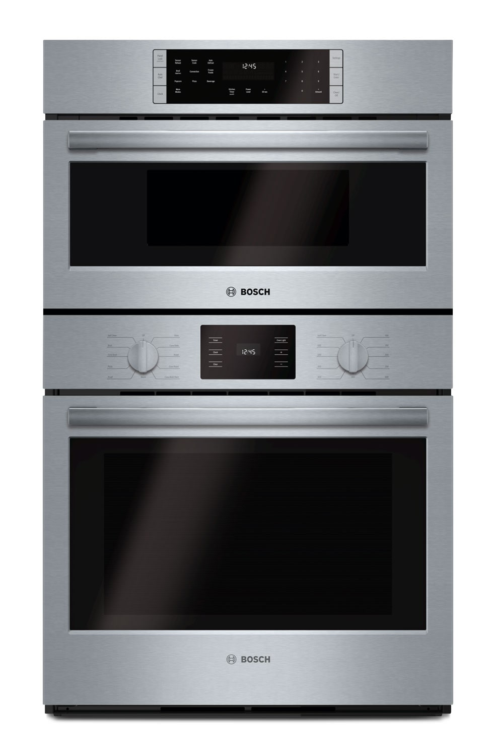 Cooking Products - Bosch 500 Series 4.6 Cu. Ft. Combination Wall Oven – HBL5751UC