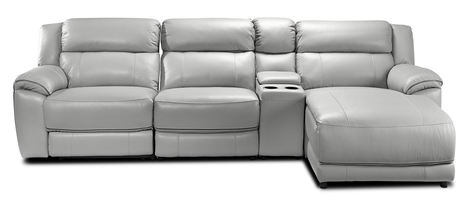 Holton 4 piece sectional with right facing chaise grey for 4 piece sectional sofa with chaise