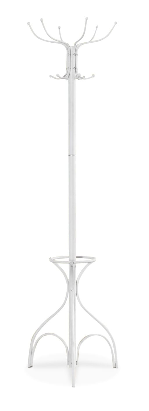 Accent and Occasional Furniture - Lumai Coat Rack – White