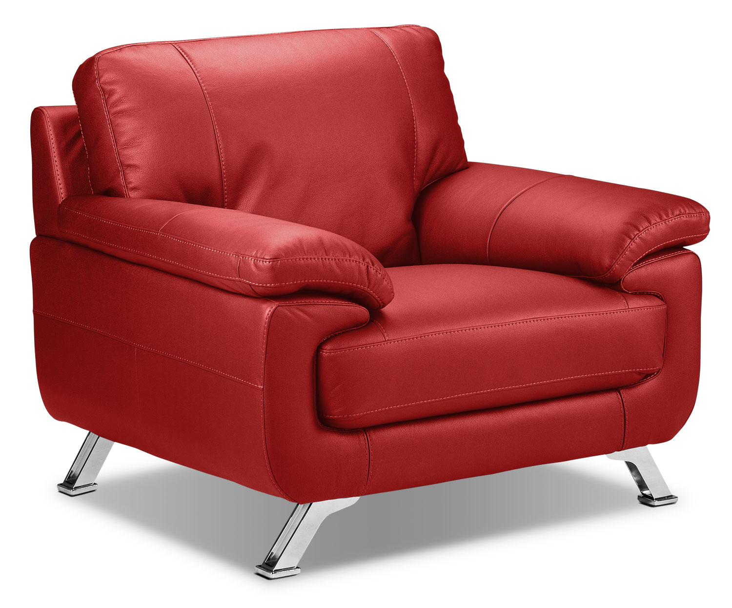Living Room Furniture - Infinity Chair - Red