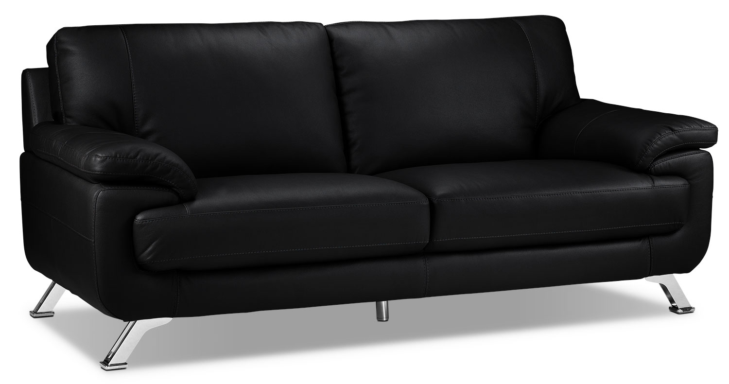 Living Room Furniture - Infinity Sofa - Black
