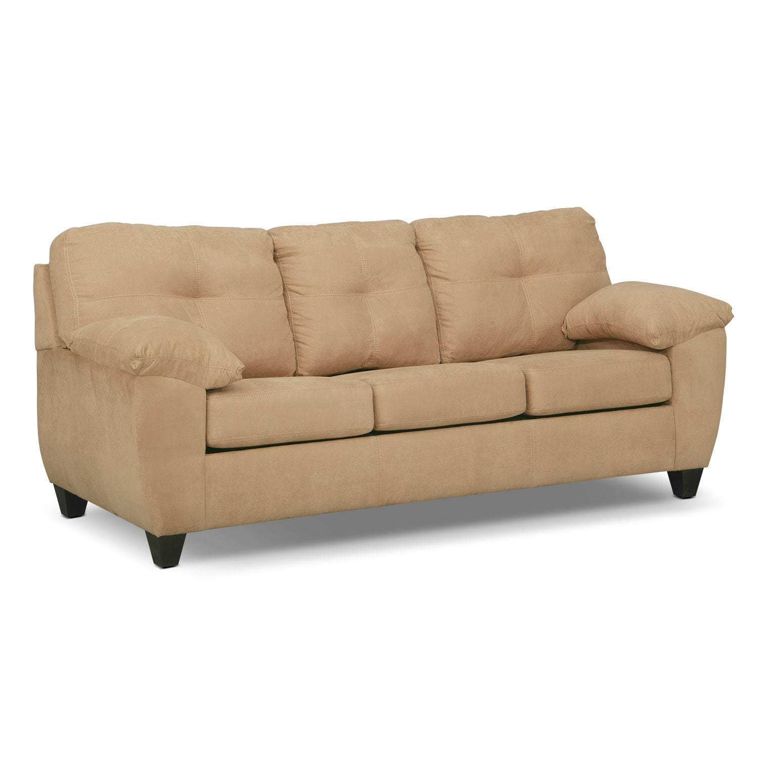Sofa Bed For Sale In Quezon City: Rialto Queen Innerspring Sleeper Sofa - Camel