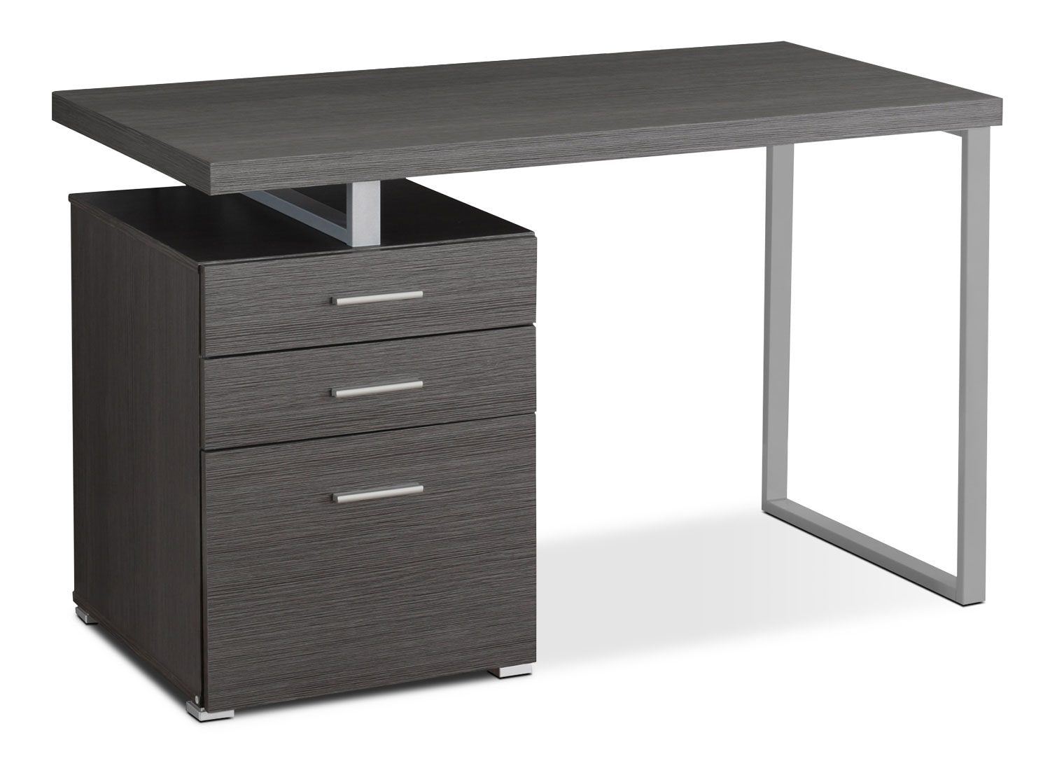 Home Office Furniture - Rimini Computer Desk – Grey