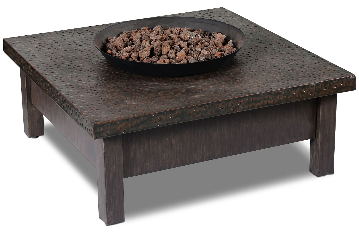 Outdoor Furniture - Larkspur 50,000-BTU Fire Table