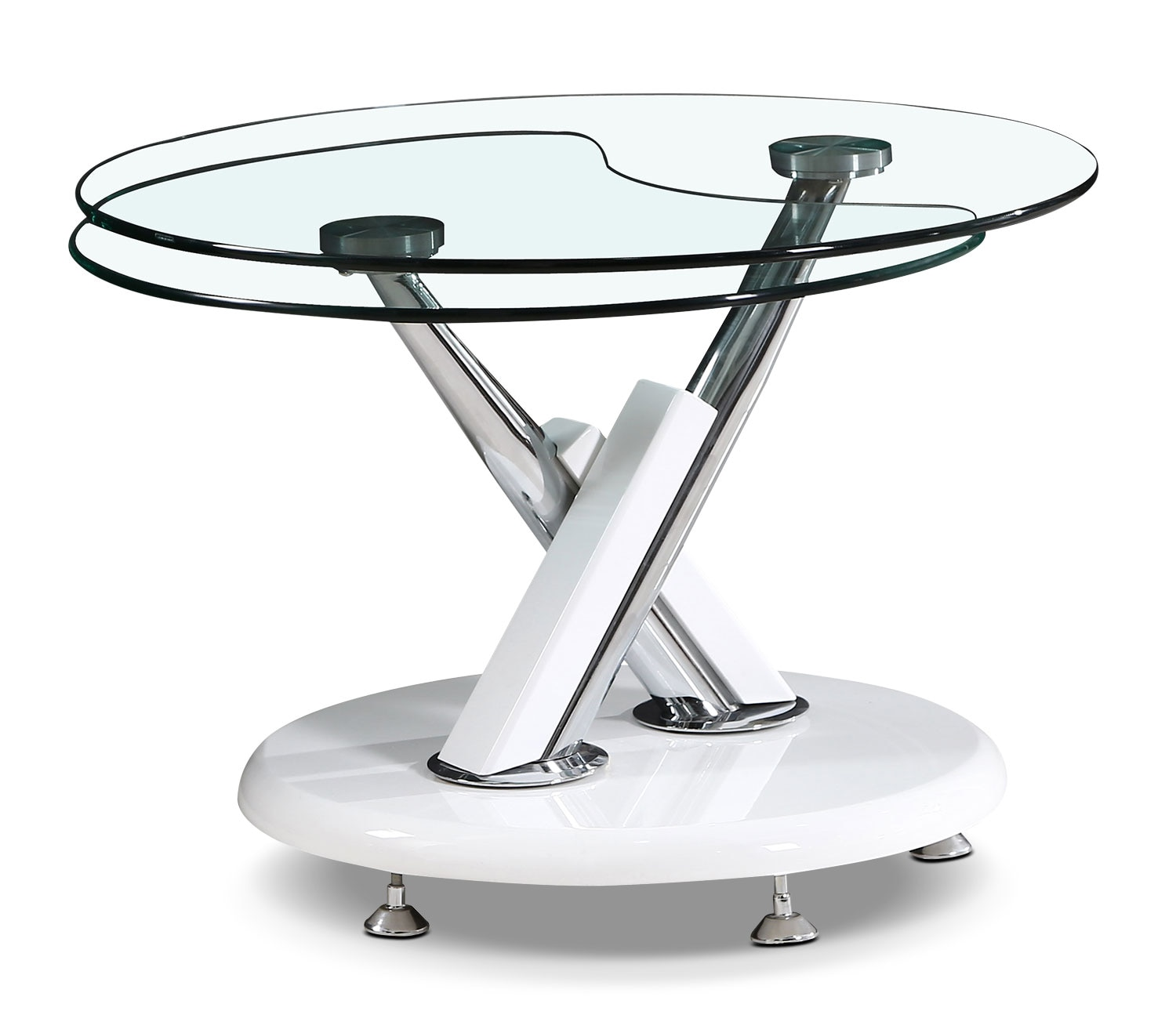 Accent and Occasional Furniture - Embree Coffee Table with Extending Swivel Top