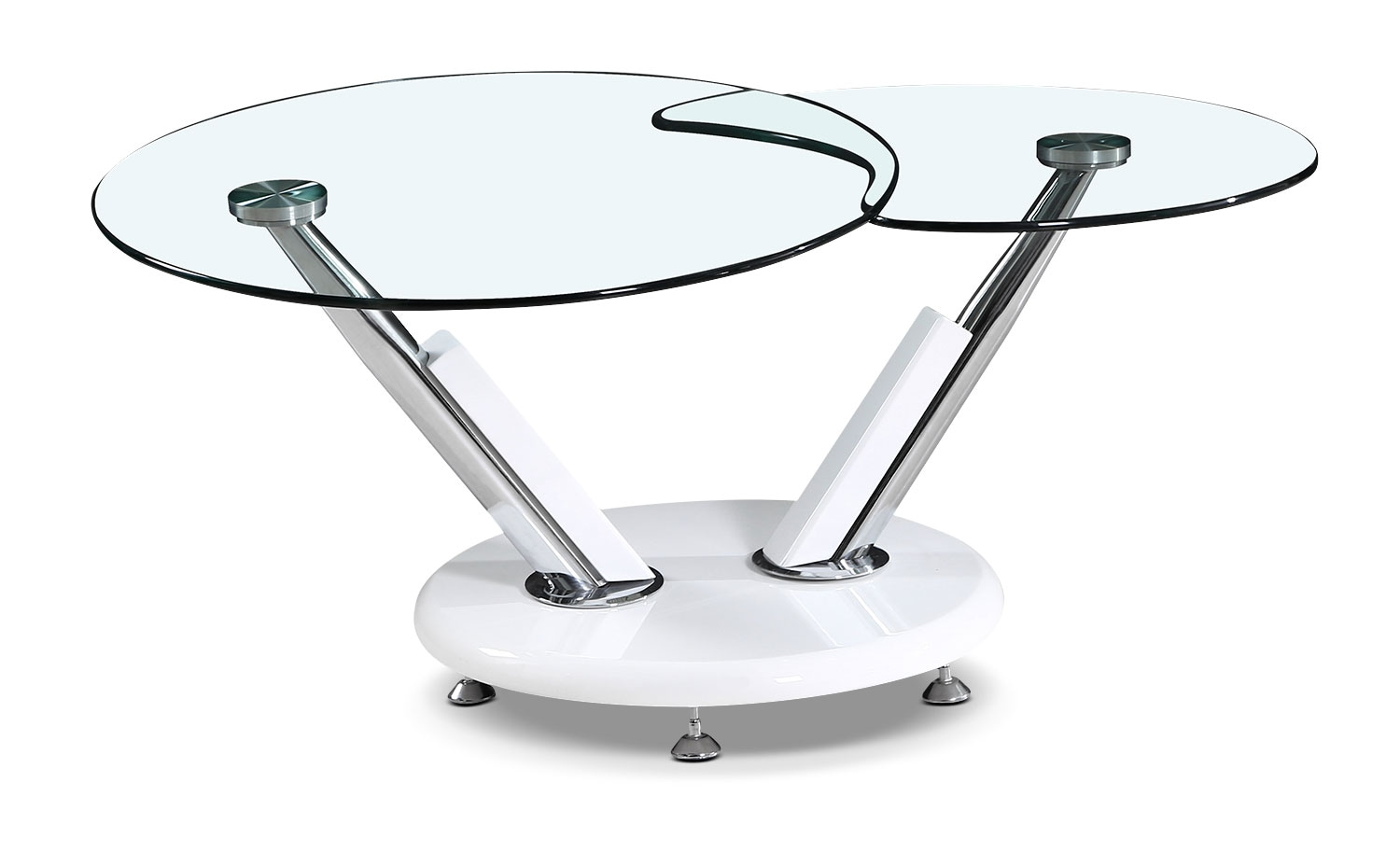 swivel glass coffee table home design ideas and pictures