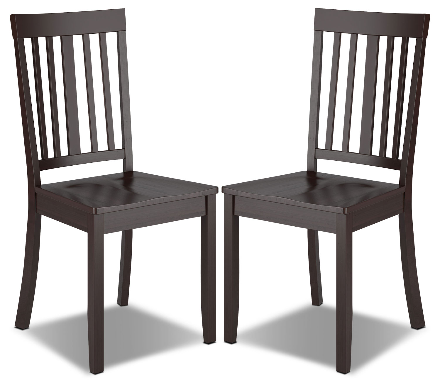 Dining Room Furniture - Atwood Dining Chair, Set of 2 – Cappuccino