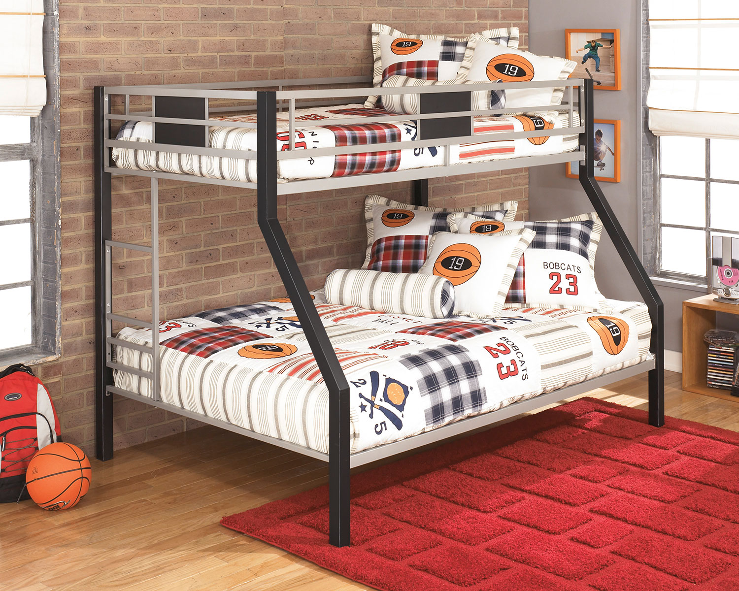 Dinsmore Twin Full Bunk Bed The Brick