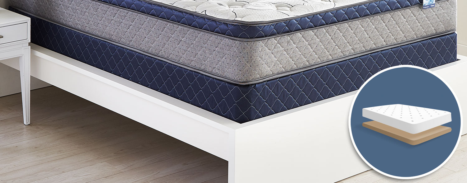 Burberry Mattress Queen Low-Profile Boxspring