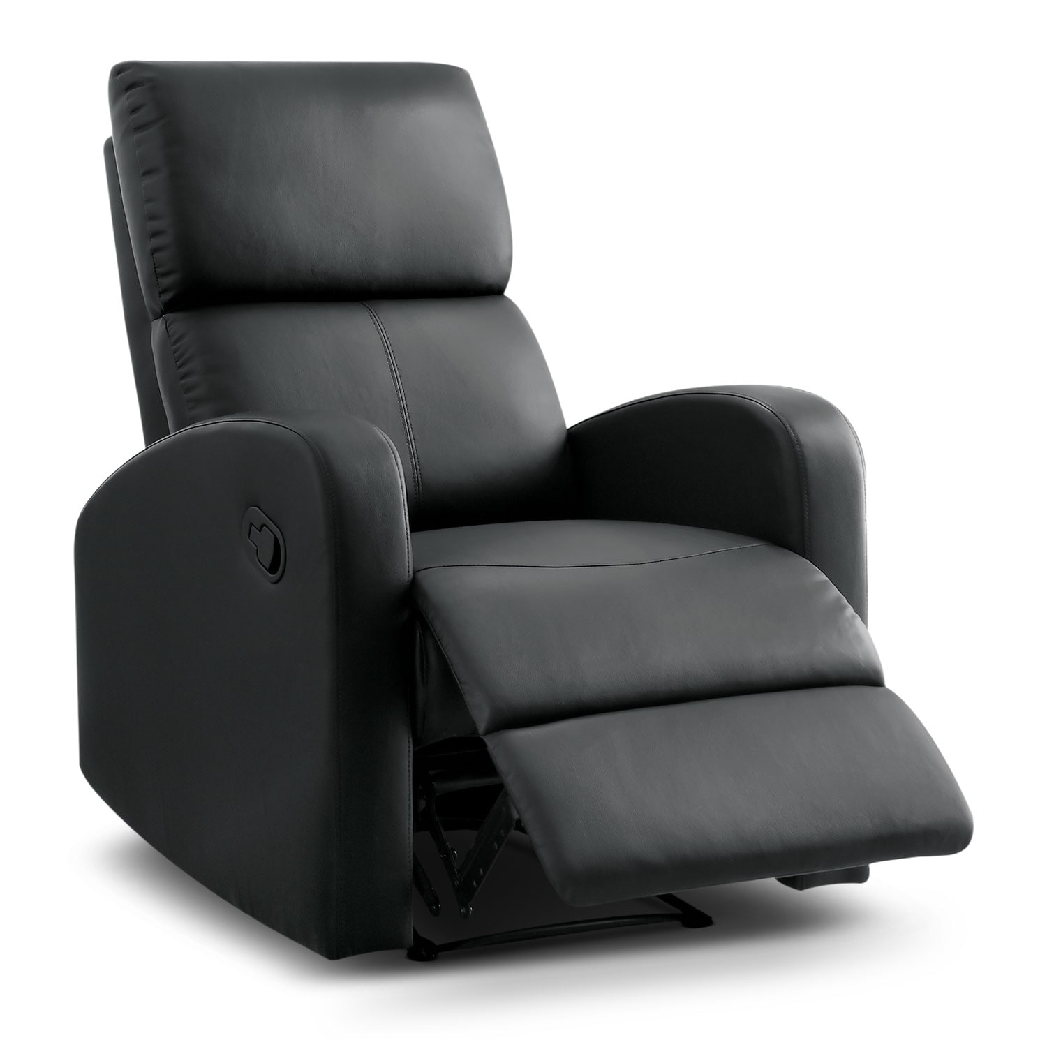 Living Room Furniture - Benning Recliner - Black
