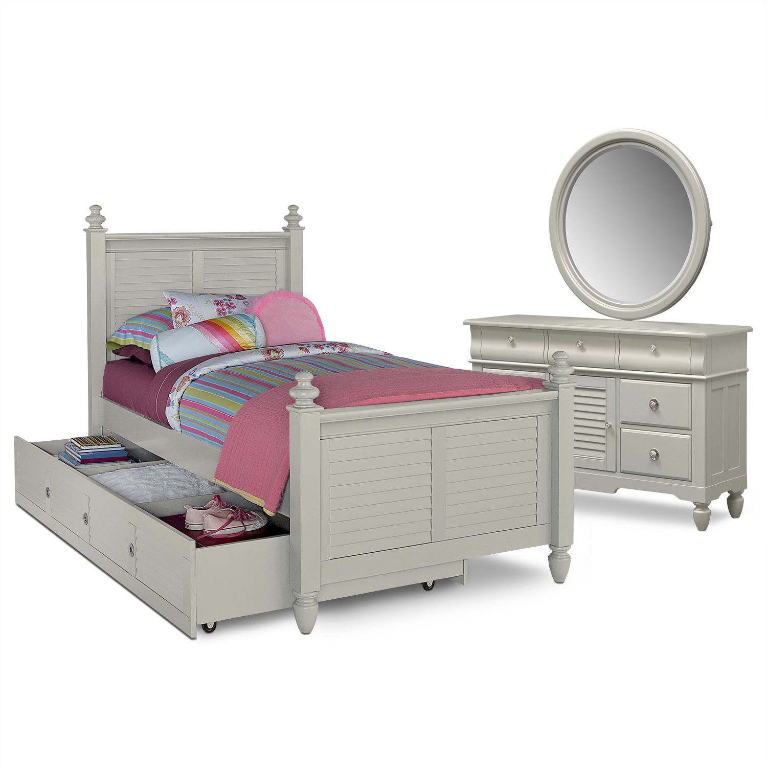 The seaside collection gray american signature furniture Seaside collection furniture