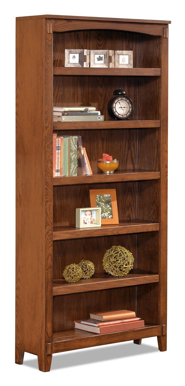 Cross Island 6 Shelf Bookcase