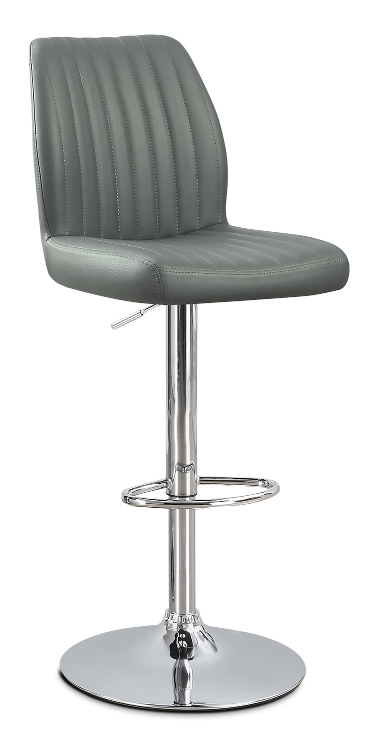 Monarch Adjustable Bar Stool – Grey
