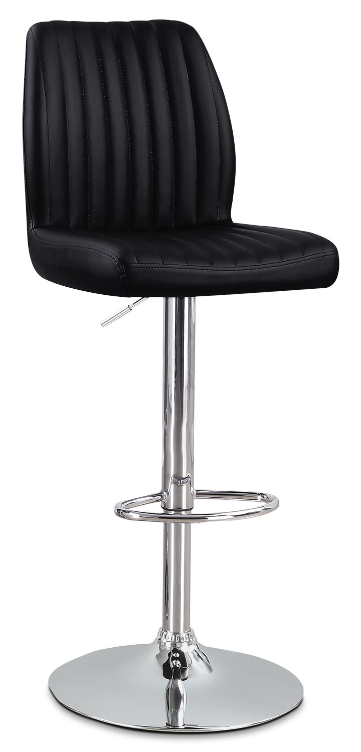 Monarch Adjustable Bar Stool – Black