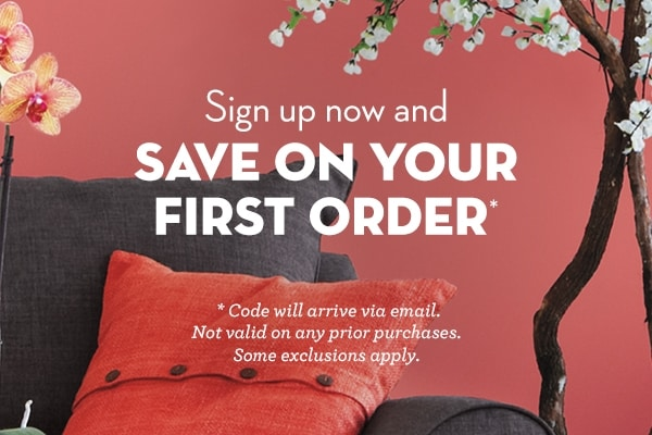 Sign up to save on your first order >